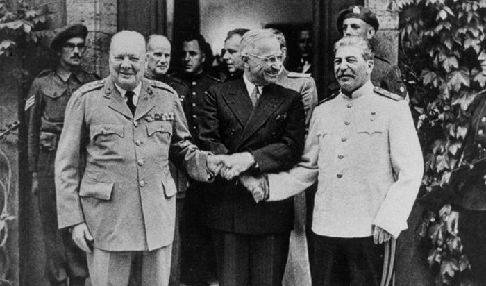 Лидеры стран перед холодной войной