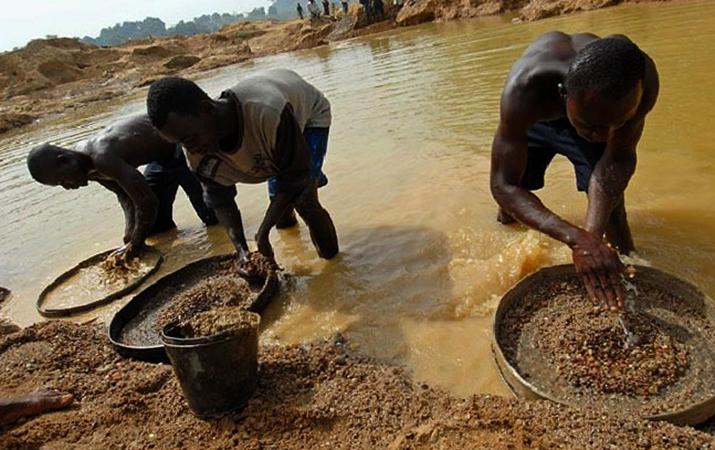Добыча в Африке