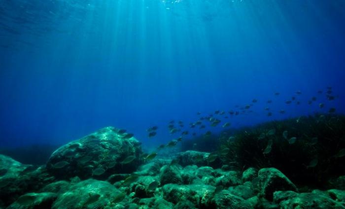 Глубина Атлантического океана