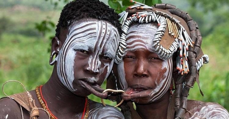 Женская красота в Чаде