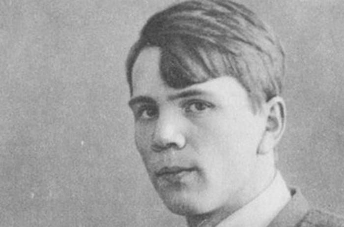 Молодой Леонид Пантелеев