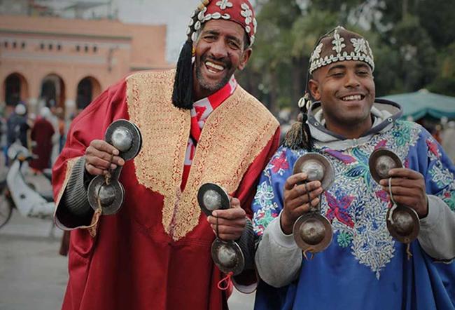 Люди в Марокко
