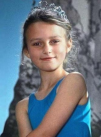 Молодая Кира Найтли