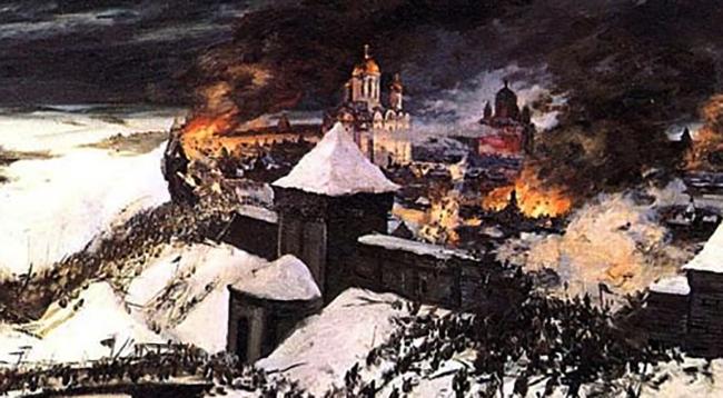 Сожжение города