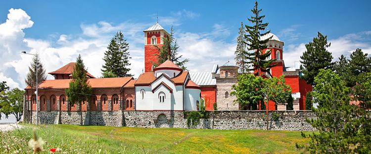 Монастырь Зика (Жица)