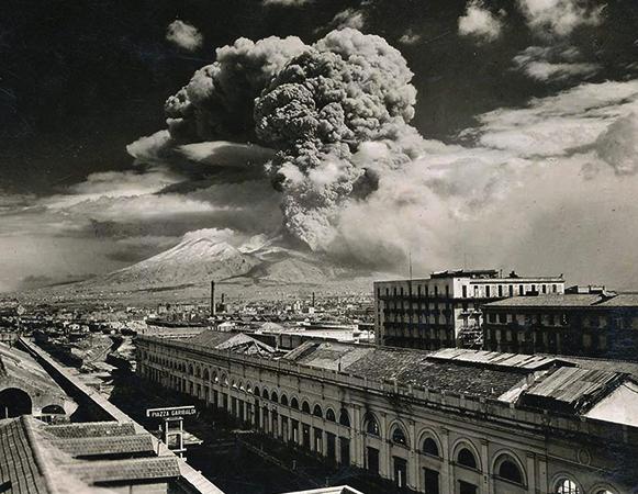 Везувий в 1944 году