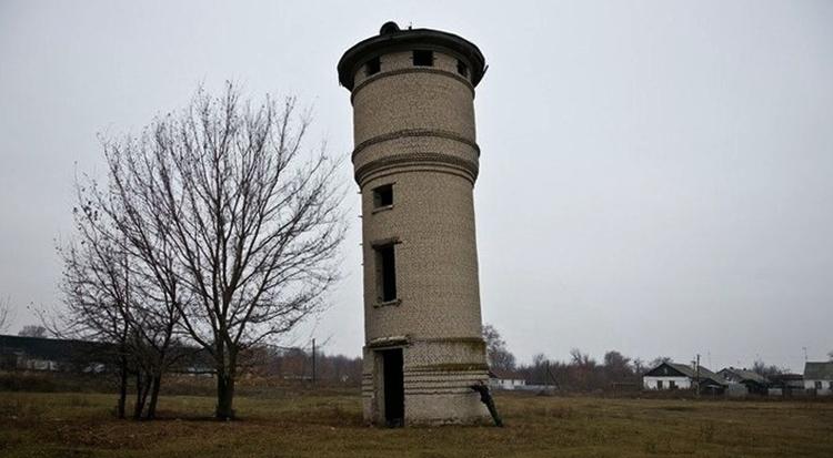 Водонапорная башня в п.Политотдел