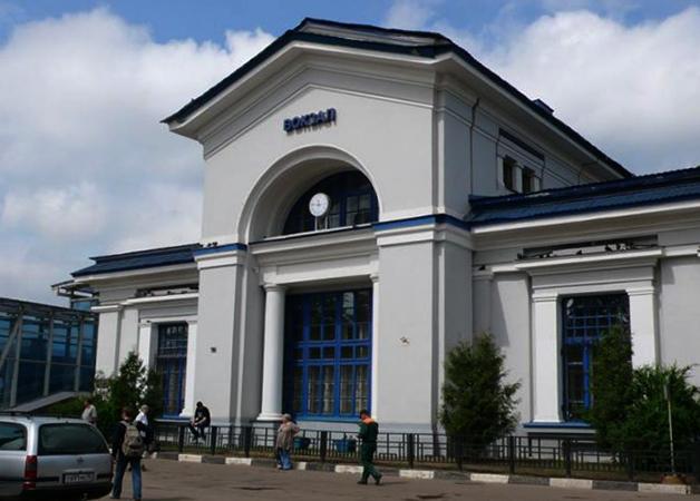 Вокзал 1896 года