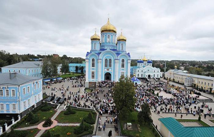 Мужской монастырь в г. Задонске