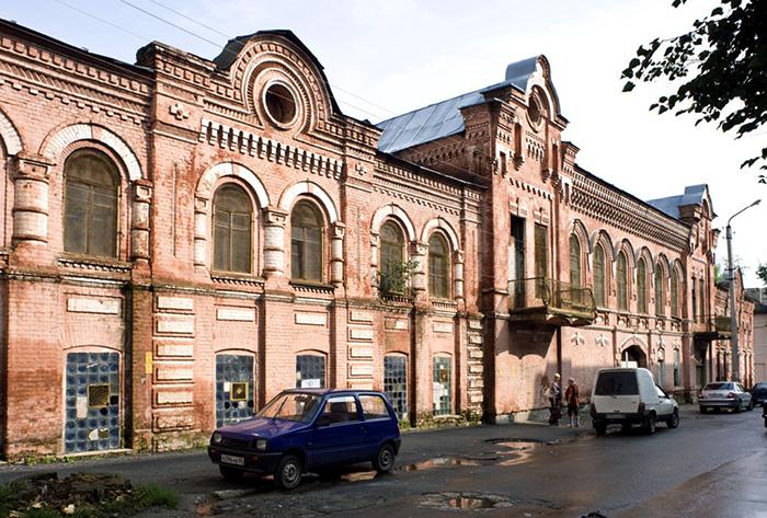 Дома и фабрика Заусайлова