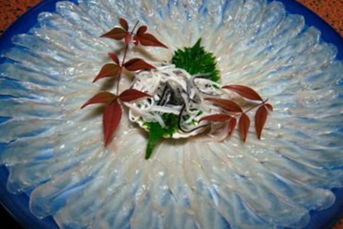 Блюдо из Фугу