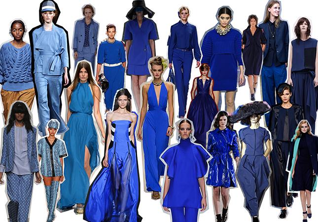 Синяя одежда