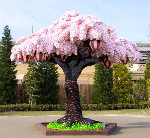 Дерево из Лего