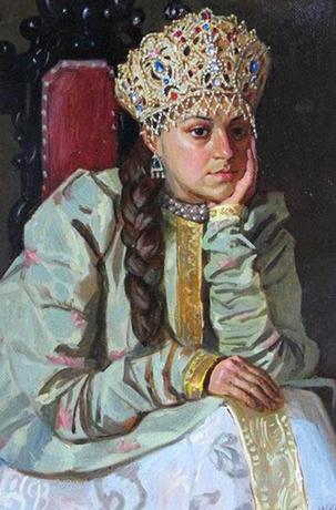 Ксения на престоле