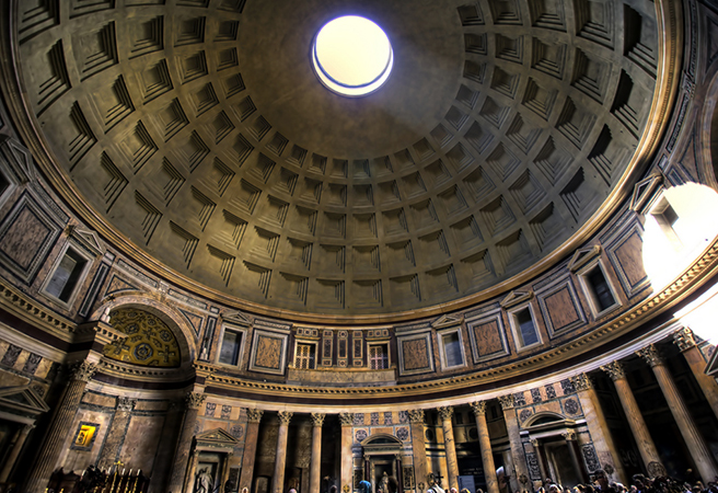 Купол в Пантеоне