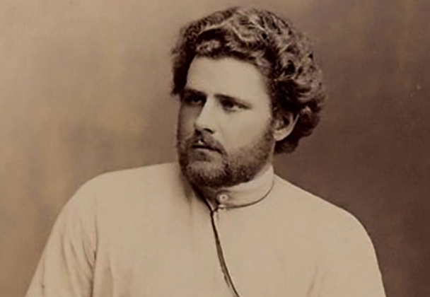 Максимилиан Волошин в молодости