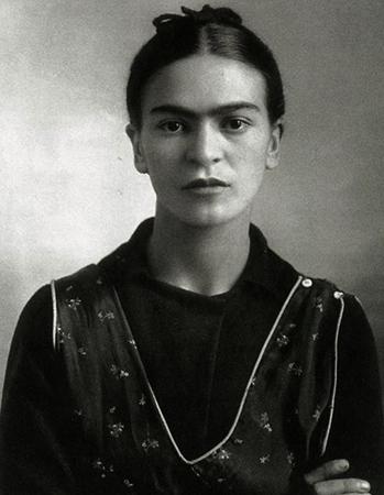 Молодая Фрида