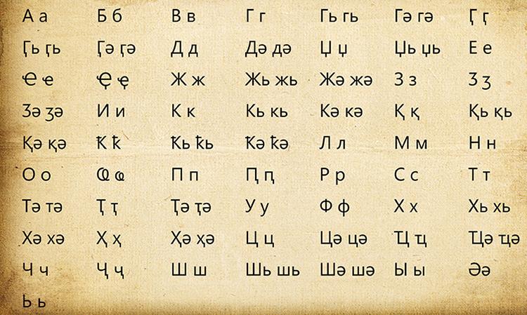 Абхазская письменность
