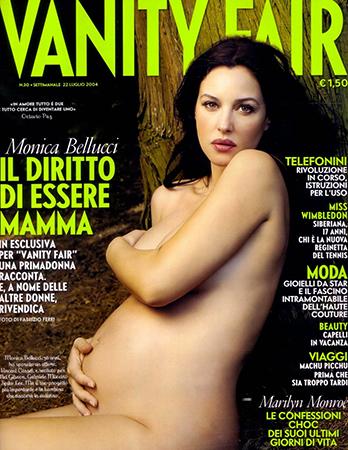 Беременная Моника