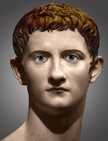 Внешний вид Калигулы