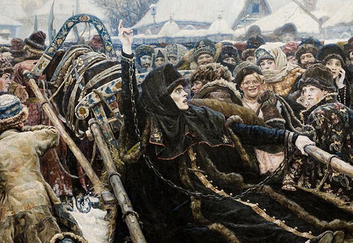 Боярыня Морозова на картине