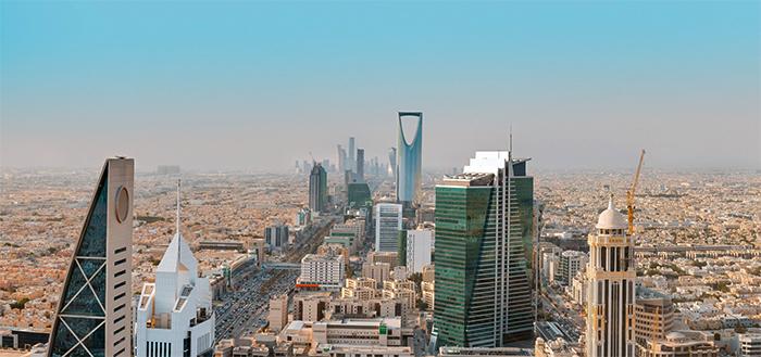 Вид на Саудовскую Аравию