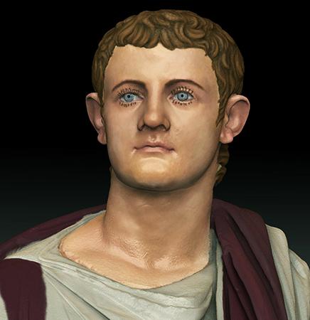 Примерный вид Калигулы