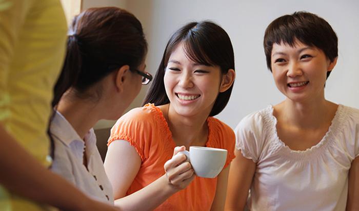 Китайцы разговаривают