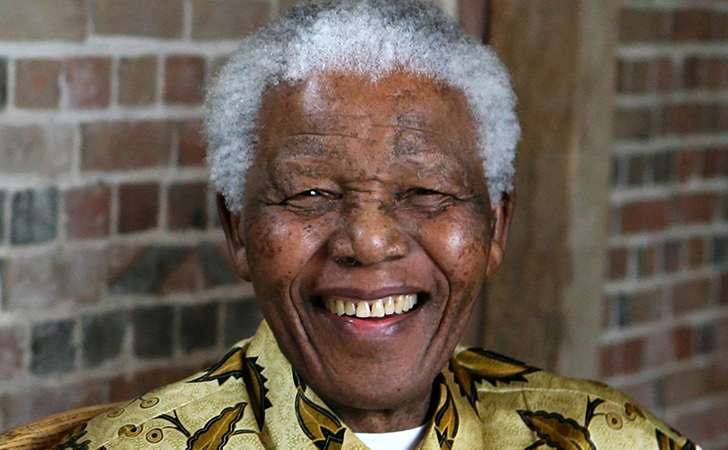 Нельсон Мандела в старости
